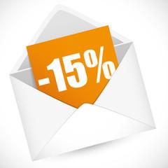 Promo 15 %
