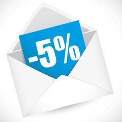 Promo 5 %