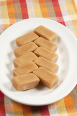 Toffee candies