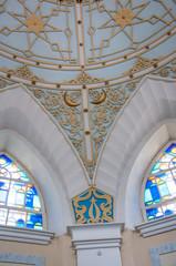 Inside the Interior of the Caravanserai