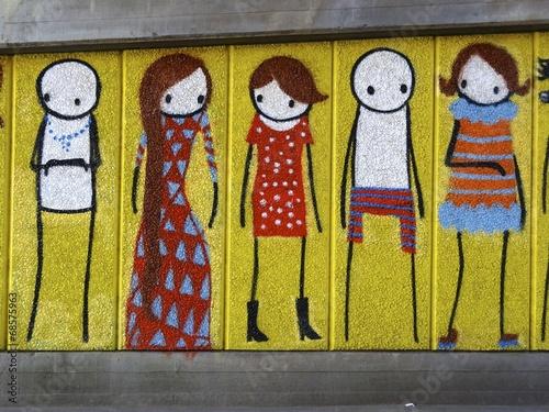 obraz lub plakat Street Art