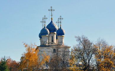 Vintage church in Russia