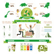 Recycle Infographic, Top five recycling countries.