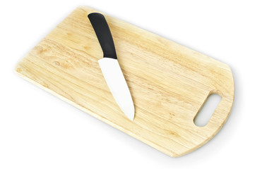 hardboard with ceramic knife