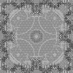 Seamless patterned frame