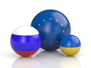 Russia and Ukraine and Europe