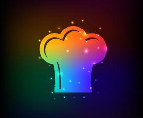 Hat symbol,Rainbow vector