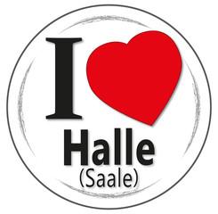 I love Halle (Saale)