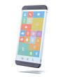 glass transparent smartphone