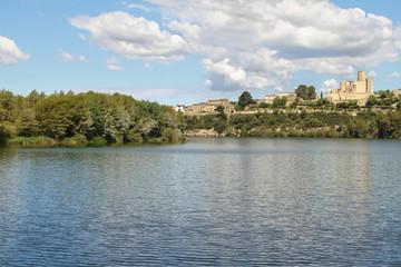 Castellet Castle and Foix dam