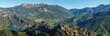 Panoramic landscape of Serra de Busa