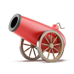 Red cannon