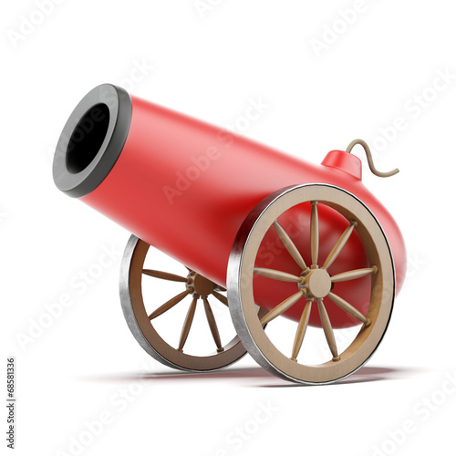 Red cannon - 68581336