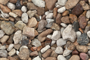 Seamless background of gravel