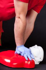 Presentation of  heart massage