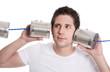 Lauschangriff: mithören am Telefon oder Konzept für Hörbehindert