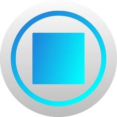 Stop icon (vector)