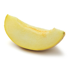 Slice of cantaloupe melon