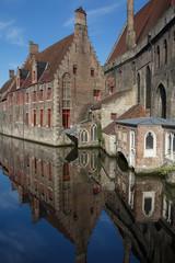 Bruges quiet canal