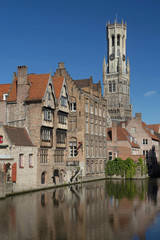The historic center of Bruges