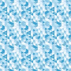 blue mosaic,vector seamless pattern