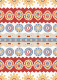 Abstract vector ethnic seamless pattern. Use for wallpaper,patte