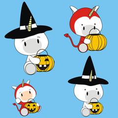 unicorn baby costume halloween set