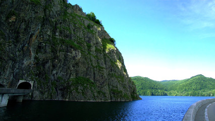 Vidraru Dam and Vidraru Lake