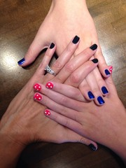 mother/daughter manicures