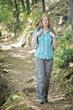 Hiking in the Mountain