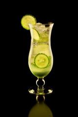 fresh cucumber tonic gin vodka