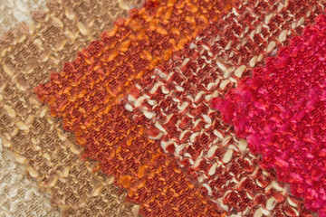 multi tone of wool fabric texture for sample background.