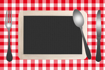 Restaurant - Menu - Table préparée