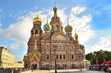 Собор Спаса на крови в Санкт-Петербурге