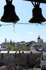 Москва с колокольни в Кадашах.