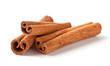canvas print picture - Fragrant cinnamon sticks