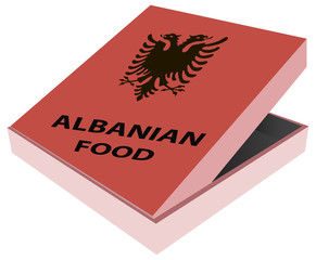Box Albanian food