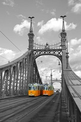 Fototapeta most wolności Budapeszt
