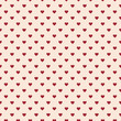 Romantic seamless pattern with hearts. Beautiful  vector