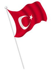 トルコ 国旗 国