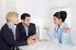 Sicheres Auftreten im Vorstellungsgespräch; Business Team