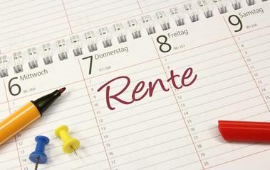 Kalender Rente