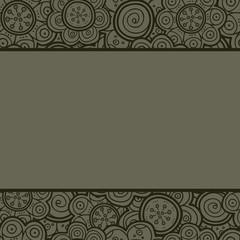 Floral pattern. Illustration. Background