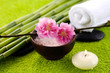 Постер, плакат: Spa treatment and aromatherapy