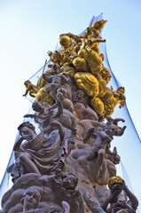 Plague column memorial at Graben street in Vienna