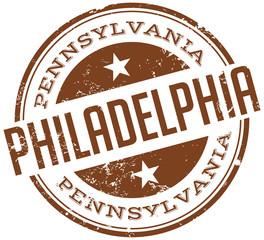 philadelphia stamp