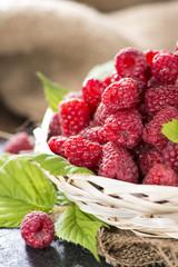 Some fresh Raspberries