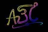 ABC Buchstaben...