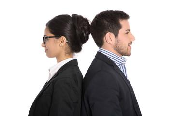 Frauenquote: Gleichstellung von Männer und Frauen. Konzept