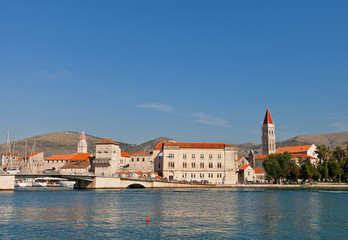Historical center of Trogir, Croatia. UNESCO site